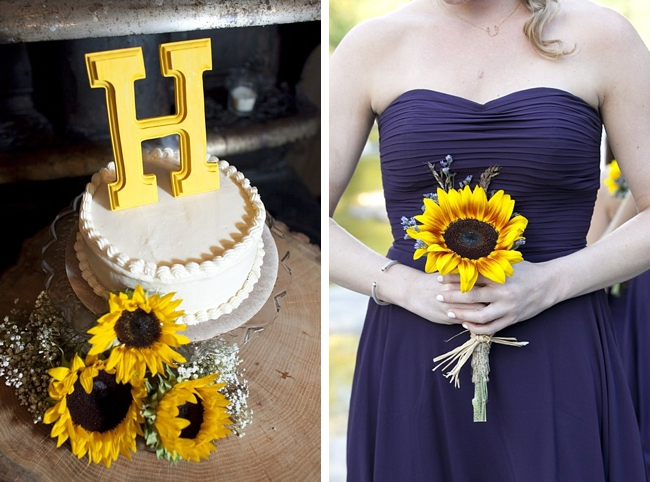 7-purple-yellow-wedding-cake-bouquet-sunflower-Spring-Smith-Studios