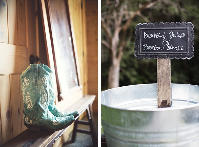 cowboy boots rustic chic wedding via http://mountainsidebride.com