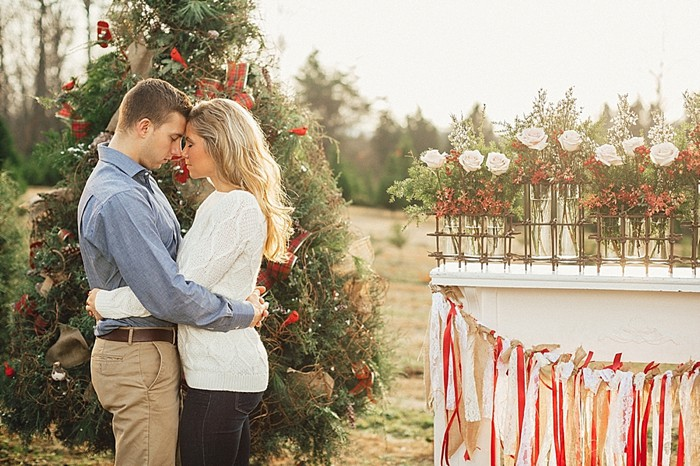 """Our First Christmas"" Inspiration Shoot"