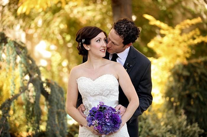 gorgeous fall wedding in Salt Lake City