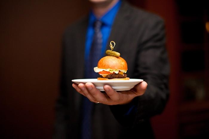 wedding hamburger