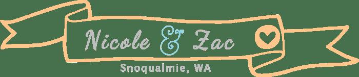 le and Zac's Washington Wedding