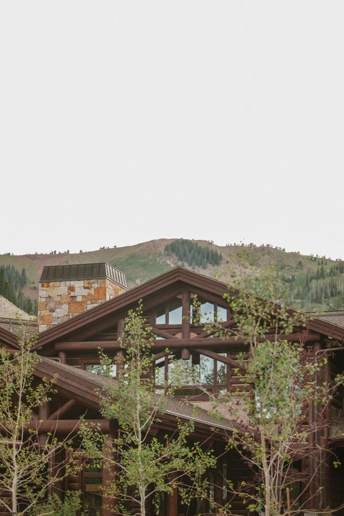 house near ski area | Park City Luxury Home Wedding