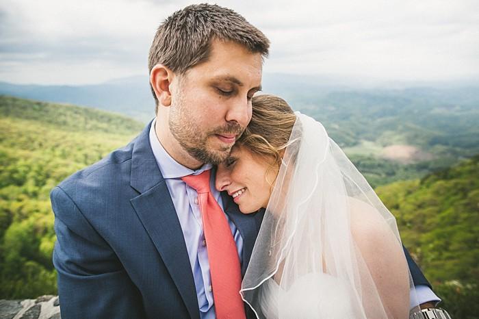 Western North Carolina Forest Wedding