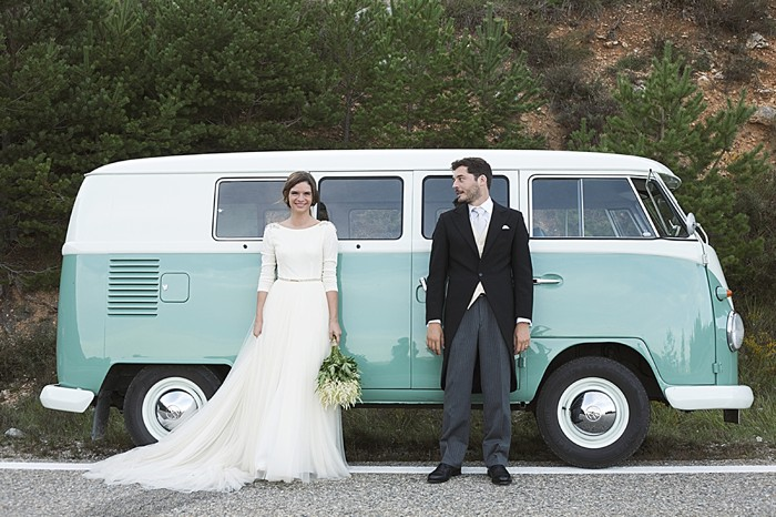Pretty Mountain Wedding up in the Pyrenees