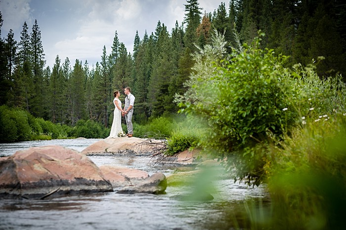 Picturesque Truckee River Wedding | Lake Tahoe