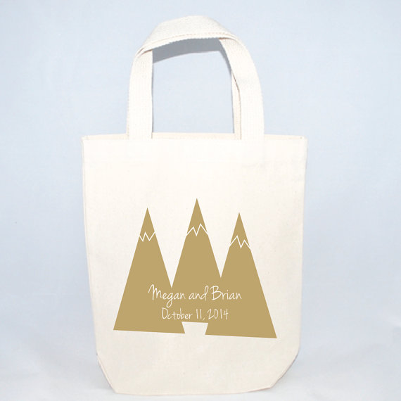 mountain peaks welcome bag