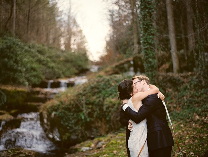 Breathtaking Waterfall Wedding in the Smoky Mountains