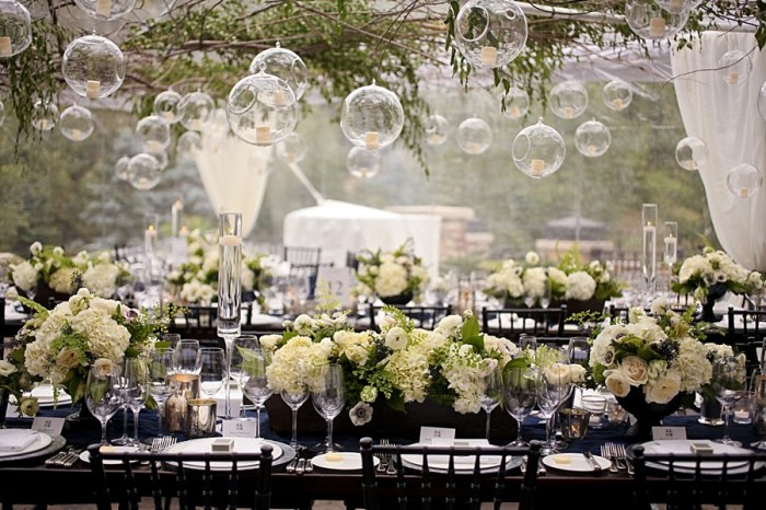 Navy and Ivory Wedding Inspiration with Cowboy and Asian Details