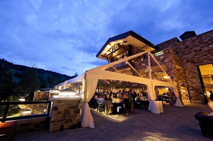 st regis wedding reception space | Park City Utah Wedding | Pepper Nix Photography