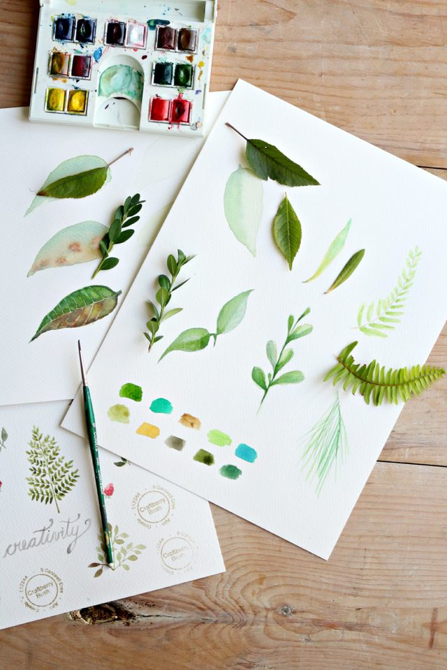 3-eHow-how-to-paint-water-color-leaves