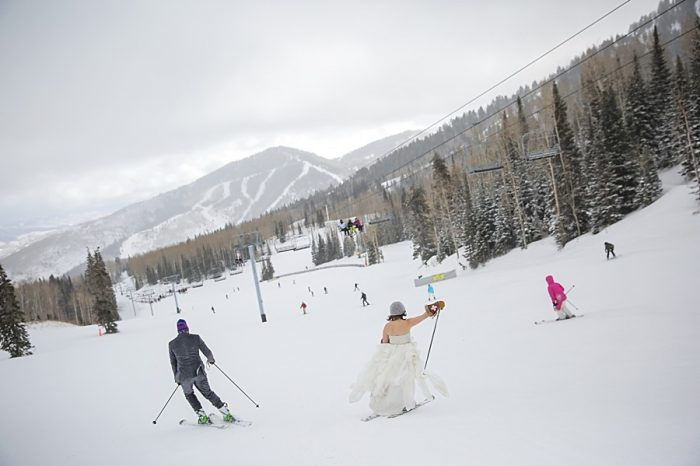 Canyons Resort Winter Wedding | Pepper Nix Photography