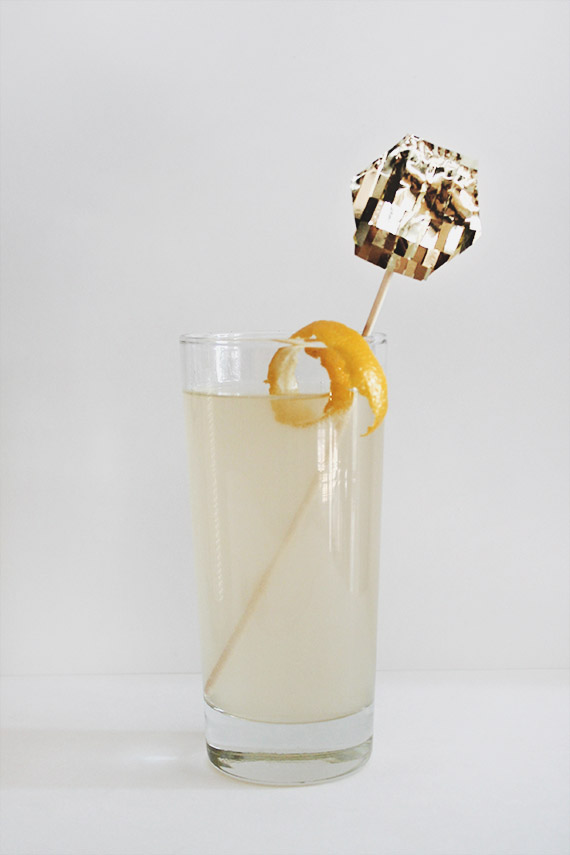 French 75 Signature Cocktail
