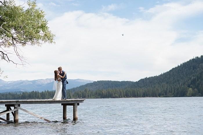 Tahoe Donner Lakeside Destination Wedding in the High Sierra