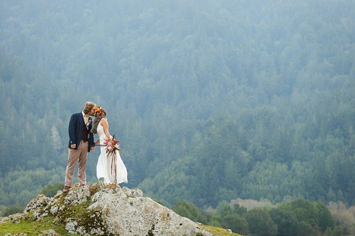 Bergreen Photography Mountain Wedding Portraits