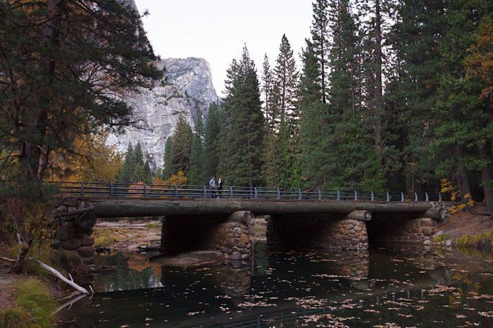 15 Fall Engagement In Yosemite | Bergreen Photography | Via MountainsideBride.com