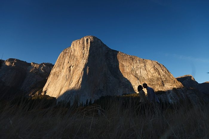 16 Fall Engagement In Yosemite | Bergreen Photography | Via MountainsideBride.com
