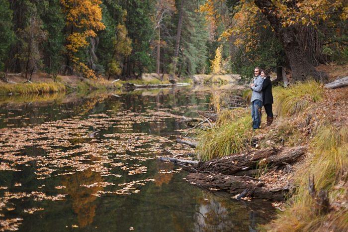 6 Fall Engagement In Yosemite | Bergreen Photography | Via MountainsideBride.com