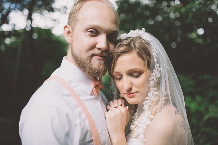 Homespun Mountain Wedding with Peach Details | Boone NC