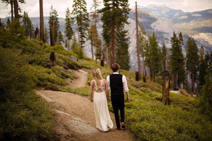 Yosemite Adventure Bridal Shoot | A Fierce Love Photography | Via MountainsideBride.com