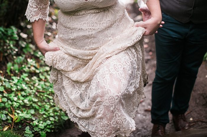 Asheville Vow Renewal | Carolyn Marie Photography | Via MountainsideBride.com
