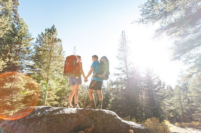 2 Camping Engagment Weekend | Bergreen Photography | Via MountainsideBride.com