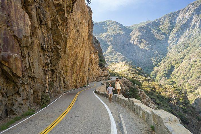 Kings Canyon Engagement | Bergreen Photography | Via MountainsideBride.com