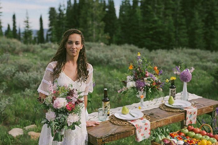 Farmers Market Wedding Inspiration | Victoria Greener Photography |via MountainsideBride.com