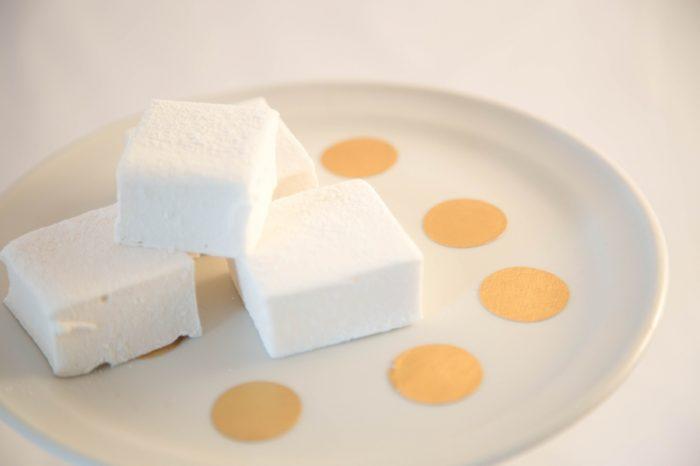 Homemade Frangelico Marshmallows