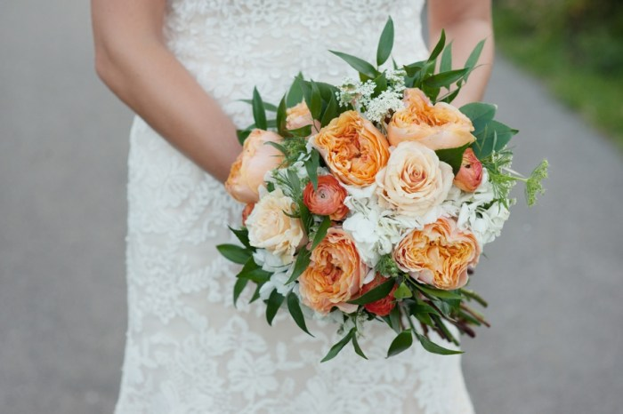 Sweet and Peachy Fernie Wedding in the Mountains