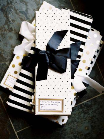 Black and White gift | Copper Mountain Wedding Colorado Danielle DeFiore Photography | Via Mountainsidebride.com