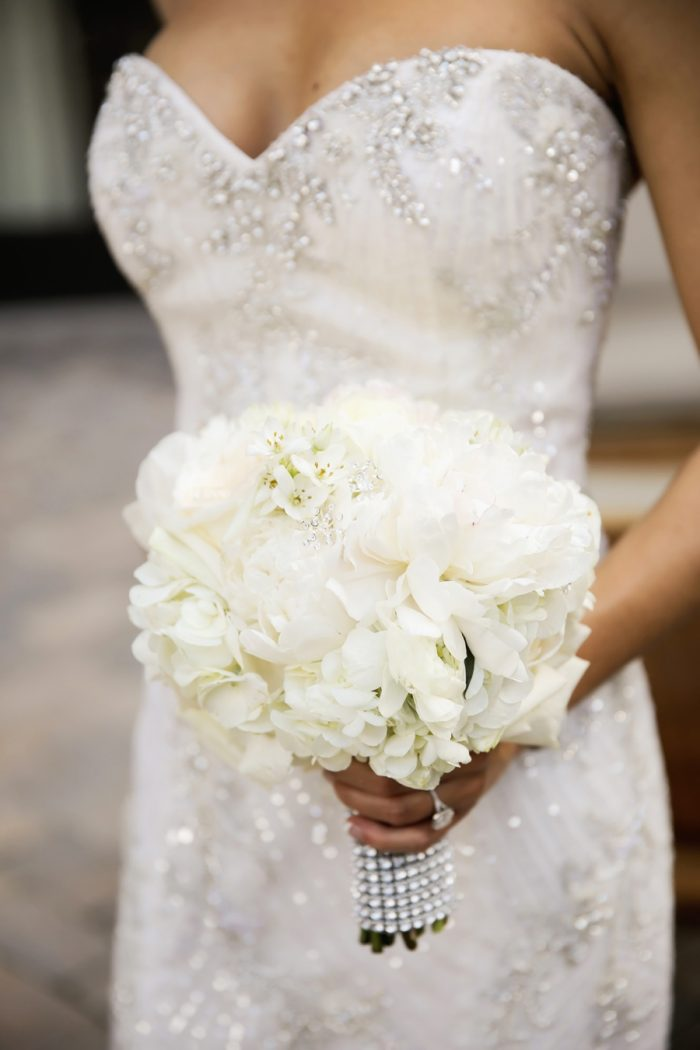 Bridal Bouquet | Elegant Park City Wedding St Regis Logan Walker Photography | Via MountainsideBride.com