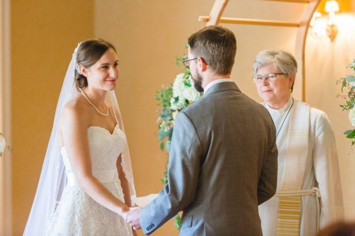 Ceremony | Mountain Wedding In Barboursville Virginia By JoPhoto | Via MountainsideBride.com