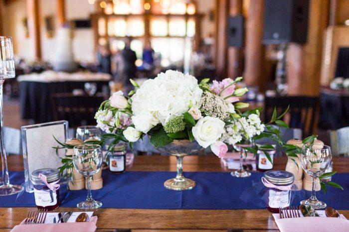 14 Centerpiece | Keystone Colorado Wedding Mathew Irving Photography | Via MountainsideBride.com