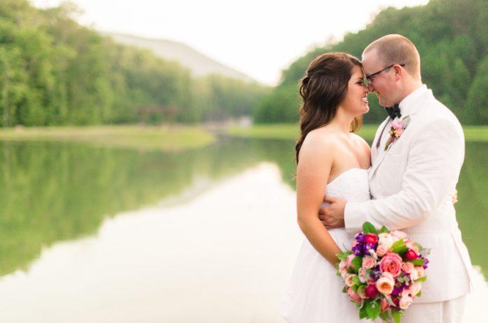 Bridal Portraits Butterfly Gap Wedding Maryville Tennessee JoPhoto | Via MountainsideBride.com