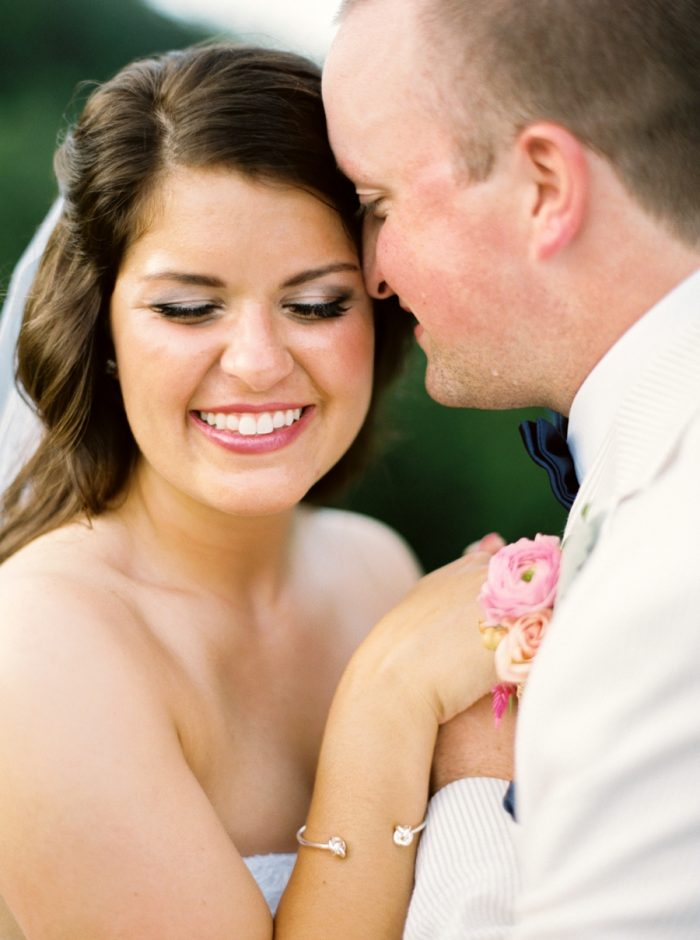 Bride And Groom Butterfly Gap Wedding Maryville Tennessee JoPhoto | Via MountainsideBride.com