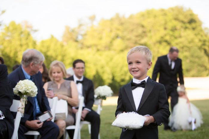 11 Asheville Event Co Ringbearer | Via MountainsideBride.com