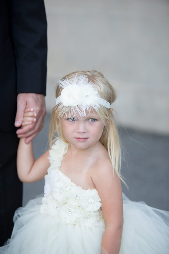 15 Asheville Event Co Flowergirl | Via MountainsideBride.com