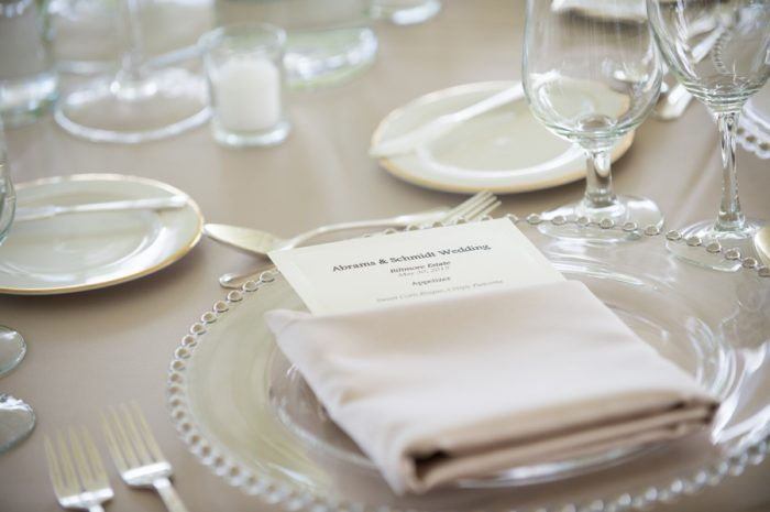 18 Asheville Event Co Placesetting | Via MountainsideBride.com