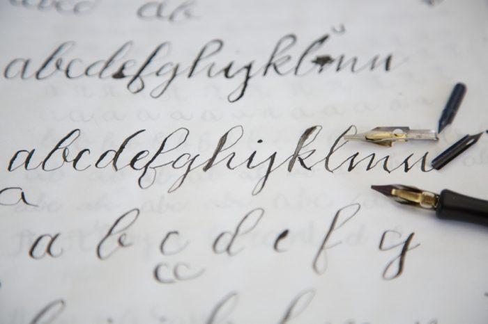 Sample Simply Calligraphy Review | Via MountainsideBride