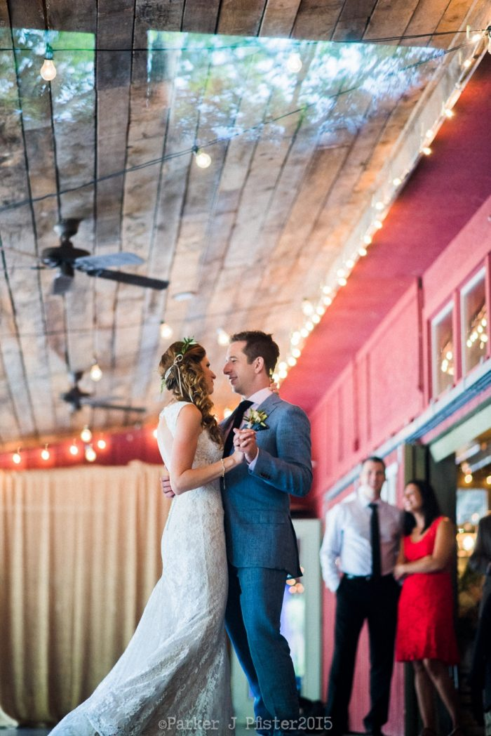 First Dance 1 Cashiers NC Wedding | Parker J Pfister |via Mountainside Bride