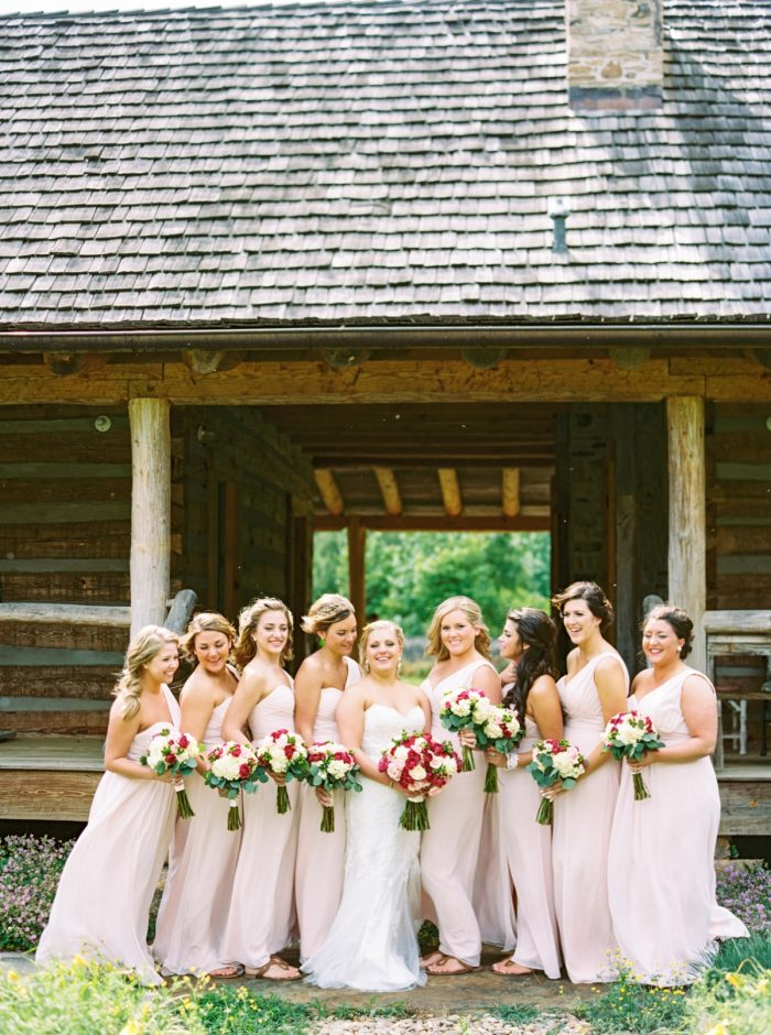 Bridesmaids Barn | Pure Water Farm Wedding Tennessee | JoPhoto | Via MountainsideBride.com
