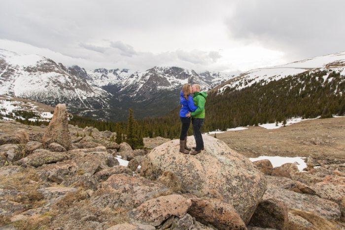 Rocky Mountain National Park Alpine Engagement