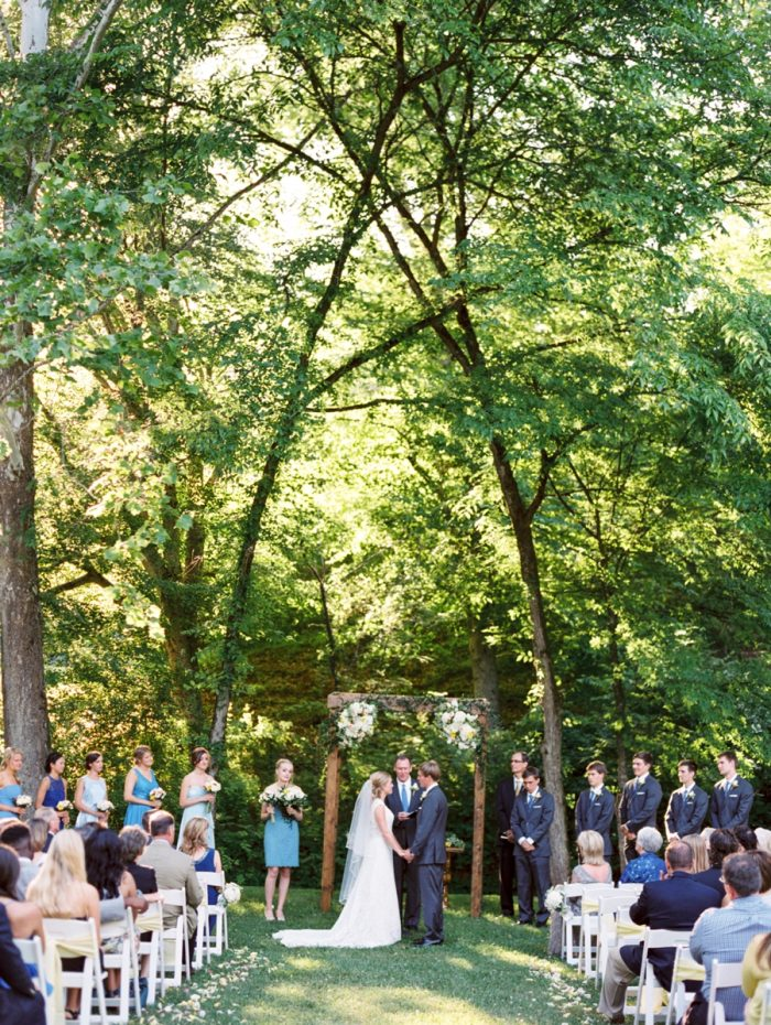 18 Ceremony Daras Garden Tennessee Wedding Jophoto Via Mountainsidebride Com