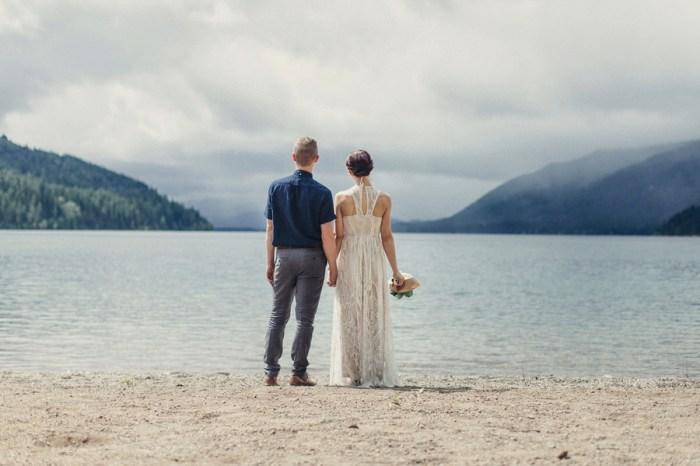 Tyler Ray Photography Lake Kachess Wedding Amber and Chris