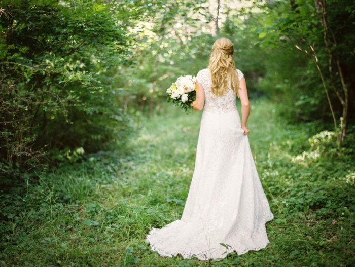9 Bride Daras Garden Tennessee Wedding Jophoto Via Mountainsidebride Com
