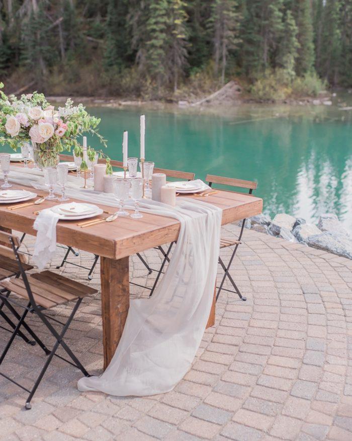 2 Emerald Lake Canadiian Rocky Mountain Styled Shoot