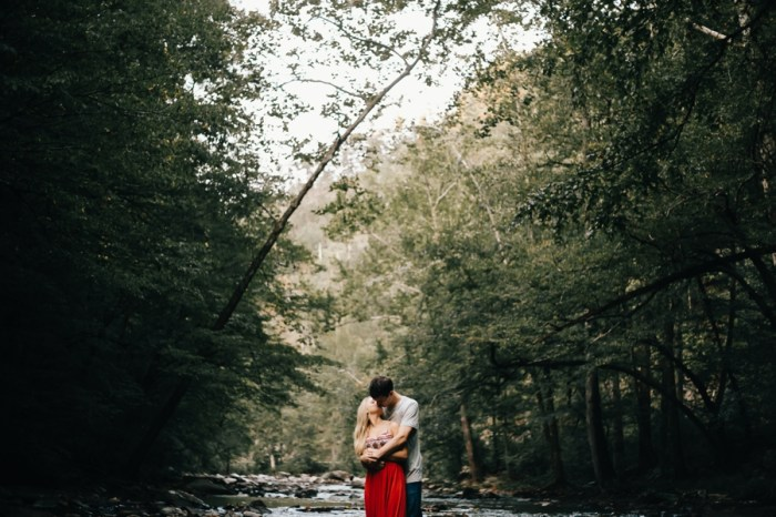 23 Smoky Mountain Engagement Session Erin Morrison Photography Via MountainsideBride.com