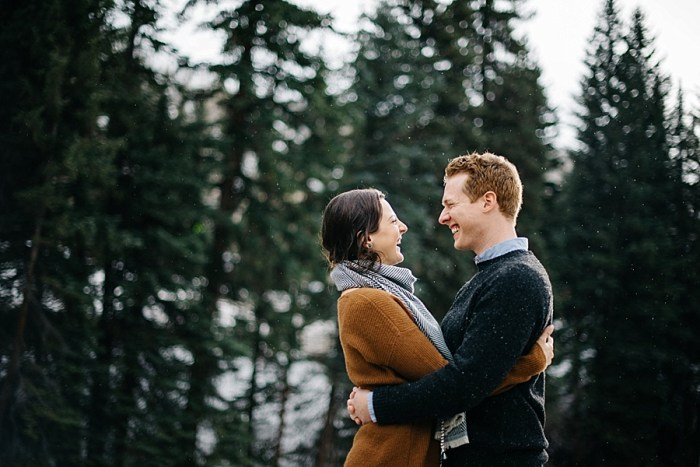 6 Vail Winter Engagement   Searching For The Light   Via MountainsideBride.com