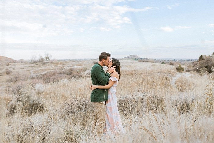 11 Valentines Engagement Loveland CO | Sarah Porter Photography | Via MountainsideBride.com